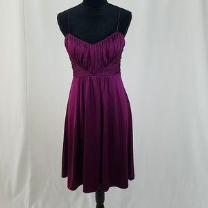Elie Tahari women M dress fit & flare empire waist